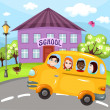 Schoolbus - Stock Vector
