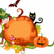 Halloween card — Stock Vector #6324226