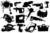 电动工具 — 图库矢量图片