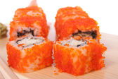 California roll. crab — Stock Photo