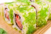 Sushi. Isolated — Stock Photo