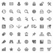 Website & Internet icons — 图库照片