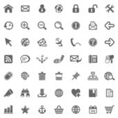 Website & Internet icons — Stok fotoğraf