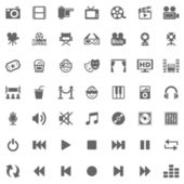 Media Icons — Stock Photo