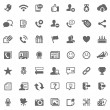 Royalty-Free Stock Photo: Social media icons