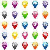 Social Media icons — Zdjęcie stockowe