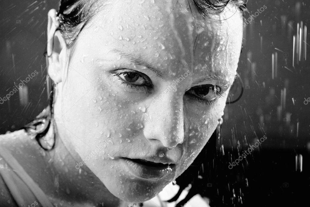 depositphotos 5962112 Young adult girl looking through the rain drop Bleach | M. Latimer Ridley