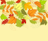 Autumn background — Stock vektor
