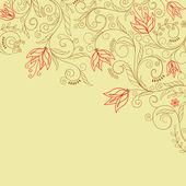 Flower background — Stockvector