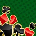 Poker background — Stock Vector