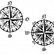 Vector de stock : Compass symbol