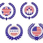 American patriotic symbols — Stock Vector #5535413