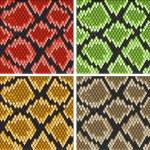 Snake skin — Stock Vector #5535446