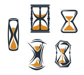 Sandglass symbolen — Stok Vektör