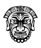 Religious mask — Stock Vector