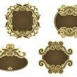Royalty-Free Stock Vector Image: Retro frames