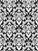 Damast naadloze patroon — Stockvector