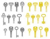 House keys — Stock Vector
