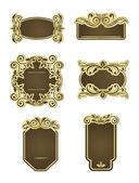 Retro frames — Stock Vector
