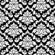 Damask seamless pattern - Stock vektor