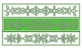 Celtic süsler — Stok Vektör