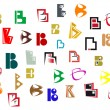 Royalty-Free Stock Vector Image: Alphabet letter B