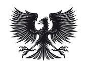Heraldic eagle — Stock Vector