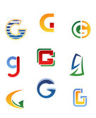 Alphabet letter G — Stock Vector