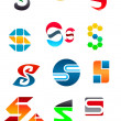 Royalty-Free Stock Vector Image: Alphabet letter S