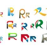 alfabeto letra r — Vetor de Stock  #6740078