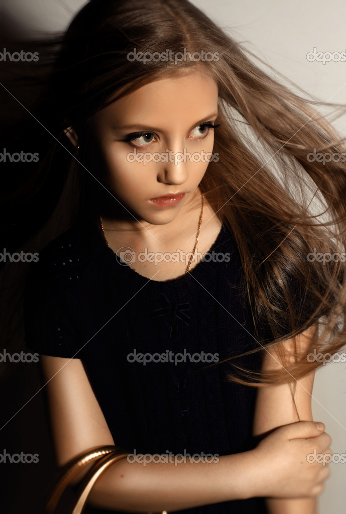 Very Beautiful Blond Teen Girl With: Stock Photo © April_89 #5540326