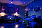 Luxury bar interior — Stock Photo