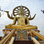 Big buddha — Stock Photo #5680930