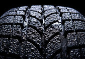 Car tire — Stock Photo