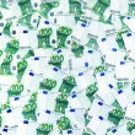 100 ユーロ紙幣 — ストック写真