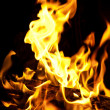 Flame close-up — Stock Photo