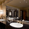 Luxury bathroom interior - Foto Stock