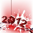 Royalty-Free Stock Vectorafbeeldingen: Merry christmas and happy New year
