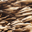 Stock Photo: Stack of timber