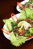 沙拉盘 — 图库照片
