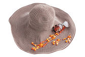 Hat and adornment — Stock Photo