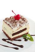 Pastry tiramisu — Stock Photo