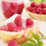 Raspberry jam — Stock Photo #5999012
