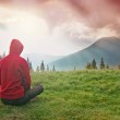 Meditation in the Mountains — Stock Photo #6064909
