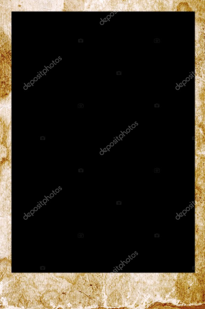 Vintage grungy photo frame — Stock Photo #5438630