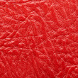 Closeup red leather background — Stock Photo