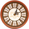 Time concept - vintage clock face — Stock Photo