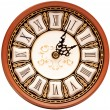 Time concept - vintage clock face — ストック写真