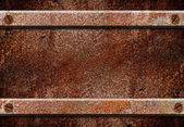 Grunge rusty metal plate, can use for background — Stock Photo