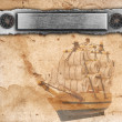 Nautical ancient background - Stockfoto